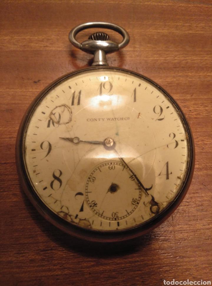 RELOJ DE BOLSILLO CONTY WATCH PARA PIEZAS (Relojes - Recambios)
