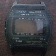 Recambios de relojes: ANTIGUA CAJA DE RELOJ CASIO F 85 . Lote 168866312