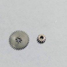 Recambios de relojes: SEIKO CRONO - 6138 - RDA. MINUTERÍA+PIÑÓN TRANSMISIÓN - (CD-2228). Lote 169014128