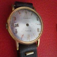 Recambios de relojes: RELOJ GIAL SIN SAETAS Y SIN CRISTAL PARA PIEZAS. Lote 44254631