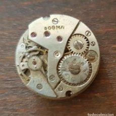 Recambios de relojes: ANTIGUA MAQUINARIA DE RELOJ DOGMA 20 MM REPARAR O DESPIECE. Lote 169790248