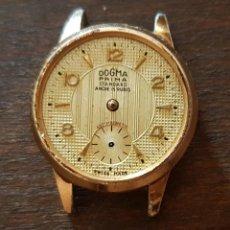 Recambios de relojes: ANTIGUO RELOJ SEÑORA DOGMA PRIMA 15 RUBIS PARA REPARAR O DESPIECE. Lote 169791608