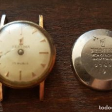Recambios de relojes: ANTIGUO RELOJ DE SEÑORA FESTINA 17 RUBIS 17 MM PARA REPARAR O DESPIECE . Lote 169793312