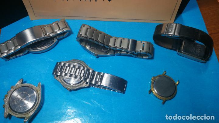 Recambios de relojes: Lote de reloj, relojes, para reparar, piezas, relojerías o lo que se quiera - Foto 2 - 169940093