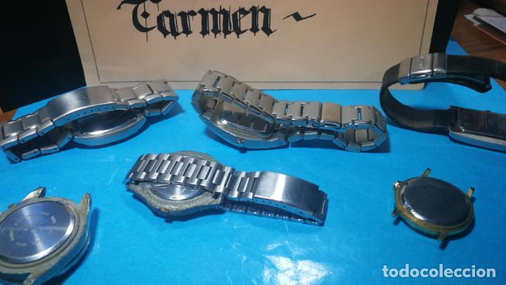 Recambios de relojes: Lote de reloj, relojes, para reparar, piezas, relojerías o lo que se quiera - Foto 10 - 169940093