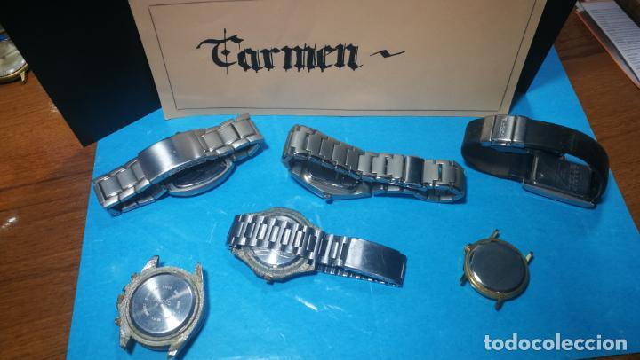 Recambios de relojes: Lote de reloj, relojes, para reparar, piezas, relojerías o lo que se quiera - Foto 13 - 169940093