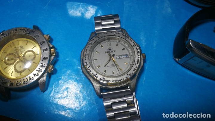 Recambios de relojes: Lote de reloj, relojes, para reparar, piezas, relojerías o lo que se quiera - Foto 16 - 169940093