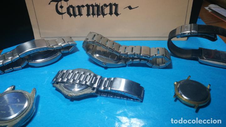 Recambios de relojes: Lote de reloj, relojes, para reparar, piezas, relojerías o lo que se quiera - Foto 17 - 169940093