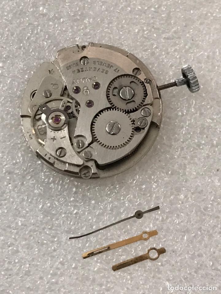 MAQUINARIA RELOJ CALIBRE AS 1950/51 CAUNY CARGA MANUAL (Relojes - Recambios)