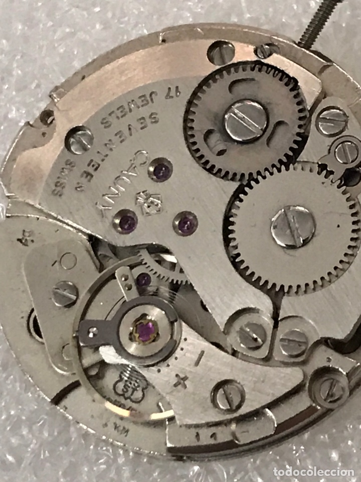 Recambios de relojes: Maquinaria reloj calibre as 1950/51 CAUNY carga manual - Foto 5 - 170042385