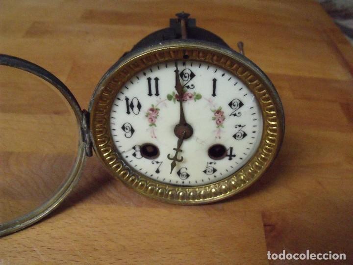 Recambios de relojes: ¡¡GRAN OFERTA!! ANTIGUA MAQUINARIA PARIS PARA RELOJ DE SOBREMESA- LOTE 74 - Foto 4 - 170124104