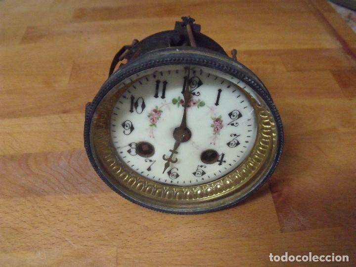 Recambios de relojes: ¡¡GRAN OFERTA!! ANTIGUA MAQUINARIA PARIS PARA RELOJ DE SOBREMESA- LOTE 74 - Foto 5 - 170124104