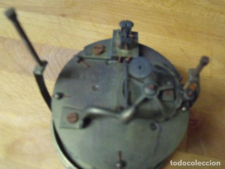 Recambios de relojes: ¡¡GRAN OFERTA!! ANTIGUA MAQUINARIA PARIS PARA RELOJ DE SOBREMESA- LOTE 74 - Foto 6 - 170124104