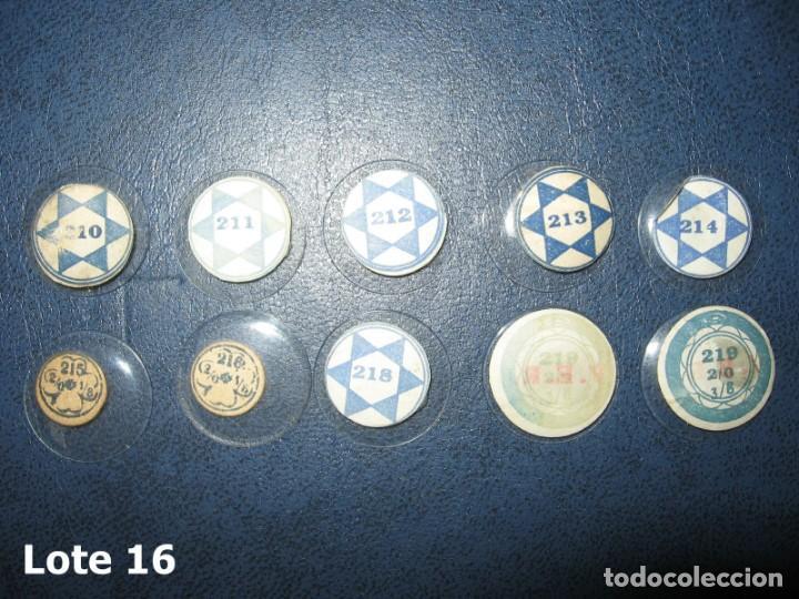 Recambios de relojes: Lote de pequeños y antiguos cristales para relojes de pulsera o bolsillo. - Foto 3 - 170162900