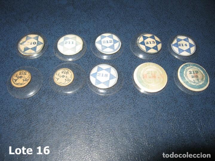 Recambios de relojes: Lote de pequeños y antiguos cristales para relojes de pulsera o bolsillo. - Foto 4 - 170162900