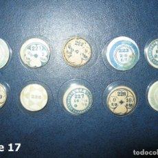 Recambios de relojes: LOTE DE PEQUEÑOS Y ANTIGUOS CRISTALES PARA RELOJES DE PULSERA O BOLSILLO. Lote 170163080