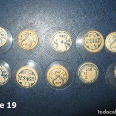 Recambios de relojes: LOTE DE PEQUEÑOS Y ANTIGUOS CRISTALES PARA RELOJES DE PULSERA O BOLSILLO. Lote 170163740