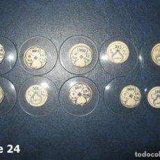 Recambios de relojes: LOTE DE MEDIANOS Y ANTIGUOS CRISTALES PARA RELOJES DE PULSERA O BOLSILLO.. Lote 170165048
