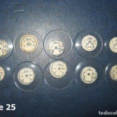Recambios de relojes: LOTE DE MEDIANOS Y ANTIGUOS CRISTALES PARA RELOJES DE PULSERA O BOLSILLO.. Lote 170165148