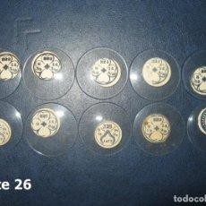 Recambios de relojes: LOTE DE MEDIANOS Y ANTIGUOS CRISTALES PARA RELOJES DE PULSERA O BOLSILLO.. Lote 170165332