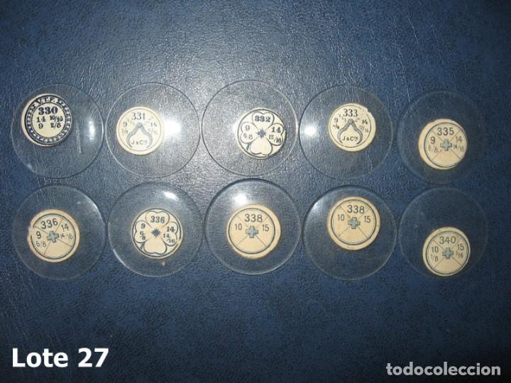 Recambios de relojes: Lote de medianos y antiguos cristales para relojes de pulsera o bolsillo. - Foto 3 - 170165504