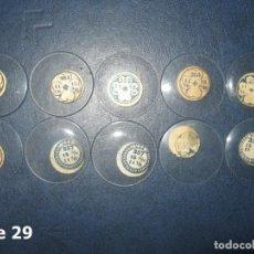 Recambios de relojes: LOTE DE MEDIANOS Y ANTIGUOS CRISTALES PARA RELOJES DE PULSERA O BOLSILLO.. Lote 170166028