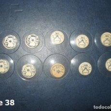 Recambios de relojes: LOTE DE MEDIANOS Y ANTIGUOS CRISTALES PARA RELOJES DE PULSERA O BOLSILLO.. Lote 170169992