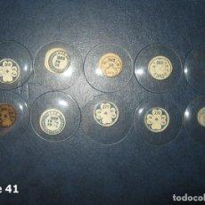 Recambios de relojes: LOTE DE MEDIANOS Y ANTIGUOS CRISTALES PARA RELOJES DE PULSERA O BOLSILLO.. Lote 170191988