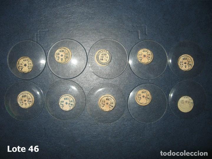 LOTE DE GRANDES Y ANTIGUOS CRISTALES PARA RELOJES DE BOLSILLO. (Relojes - Recambios)