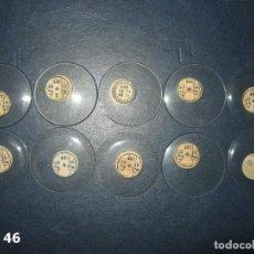 Recambios de relojes: LOTE DE GRANDES Y ANTIGUOS CRISTALES PARA RELOJES DE BOLSILLO.. Lote 170193464