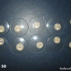 Recambios de relojes: LOTE DE GRANDES Y ANTIGUOS CRISTALES PARA RELOJES DE BOLSILLO.. Lote 170194344