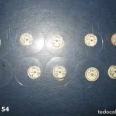 Recambios de relojes: LOTE DE MEDIANOS Y ANTIGUOS CRISTALES PARA RELOJES DE PULSERA O BOLSILLO.. Lote 170195672