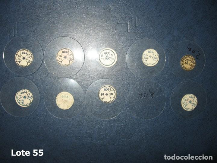 Recambios de relojes: Lote de medianos y antiguos cristales para relojes de pulsera o bolsillo. - Foto 3 - 170195848