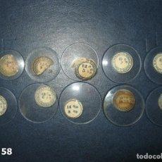 Recambios de relojes: LOTE DE ANTIGUOS CRISTALES PARA RELOJES DE PULSERA BOLSILLO. Lote 170197012