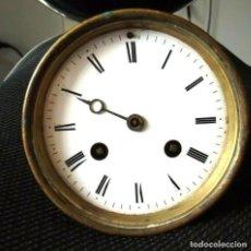 Recambios de relojes: ANTIGUA MAQUINARIA PARIS JAPY PARA RELOJ SOBREMESA-AÑO 1870- LOTE 199- FUNCIONA . Lote 170563580
