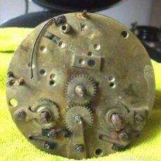 Recambios de relojes: ANTIGUA MAQUINARIA PARIS PARA RELOJ SOBREMESA-AÑO 1878- LOTE 199. Lote 170564020
