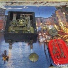 Recambios de relojes: ¡¡GRAN OFERTA €!!!ANTIGUA MAQUINARIA MOREZ DE OJO BUEY- COMPLETA - AÑO 1880-LOTE 200. Lote 170890315