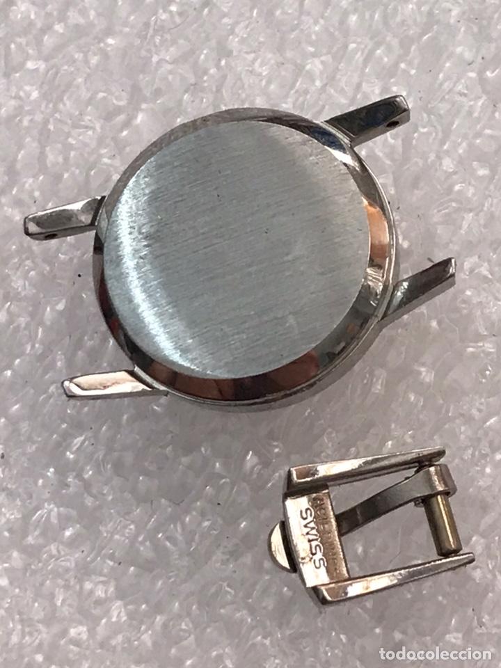 Recambios de relojes: Caja case reloj omega y hebilla sin usar para señoras - Foto 4 - 171118729