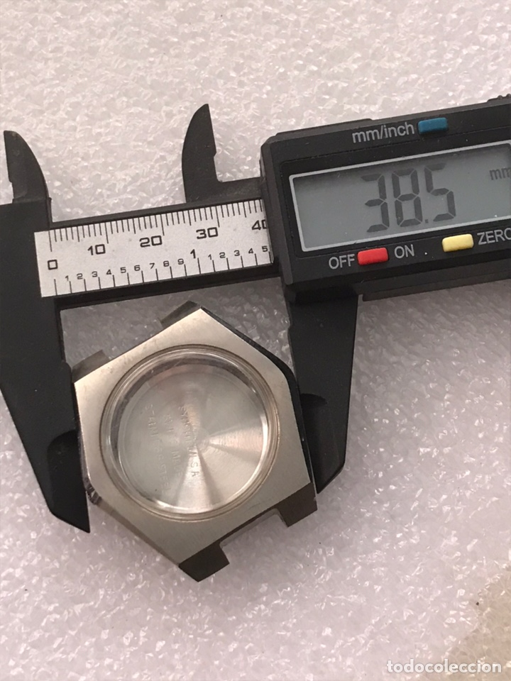 Recambios de relojes: Caja case reloj CYMA para maquinaria automática ref 22.447 sin usar - Foto 4 - 171184172