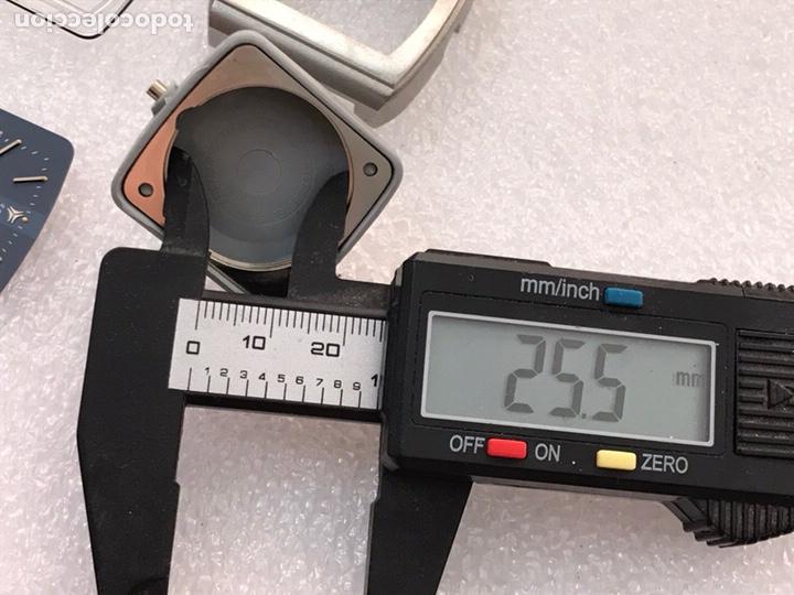 Recambios de relojes: Caja case para reloj CYMA automático doble calendario ref 24-317 sin usar - Foto 9 - 171187838