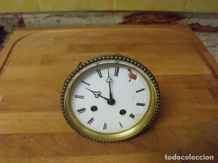 ANTIGUA MAQUINARIA PARIS PARA RELOJ SOBREMESA-AÑO 1870- LOTE 205 (Relojes - Recambios)