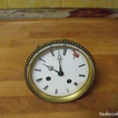 Recambios de relojes: ANTIGUA MAQUINARIA PARIS PARA RELOJ SOBREMESA-AÑO 1870- LOTE 205. Lote 171233445