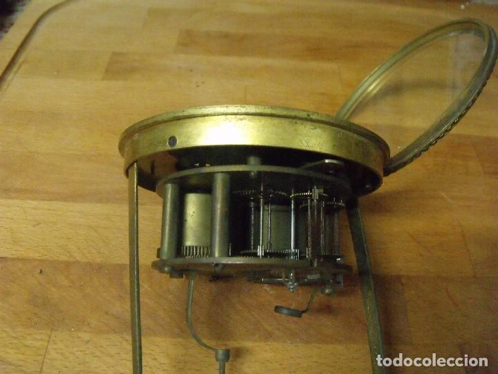 Recambios de relojes: Antigua maquinaria Paris para reloj sobremesa-año 1870- lote 205 - Foto 3 - 171233445