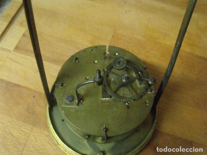 Recambios de relojes: Antigua maquinaria Paris para reloj sobremesa-año 1870- lote 205 - Foto 4 - 171233445