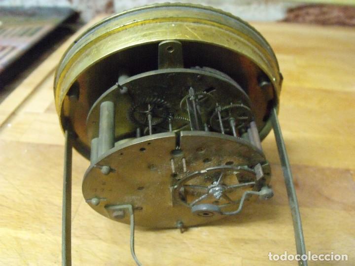 Recambios de relojes: Antigua maquinaria Paris para reloj sobremesa-año 1870- lote 205 - Foto 5 - 171233445