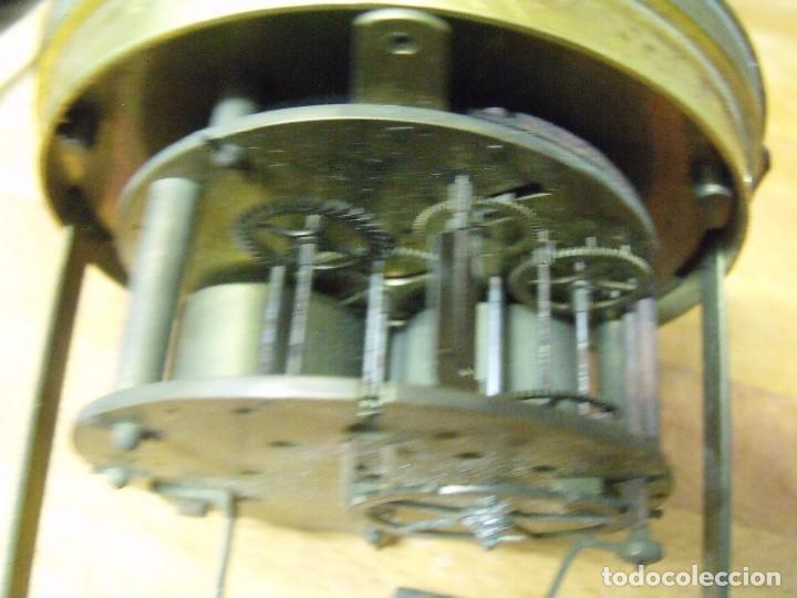 Recambios de relojes: Antigua maquinaria Paris para reloj sobremesa-año 1870- lote 205 - Foto 6 - 171233445