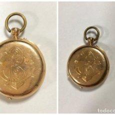 Recambios de relojes: CAJA DE RELOJ DE ORO PESO 9.8 GRAMOS. . Lote 171314185