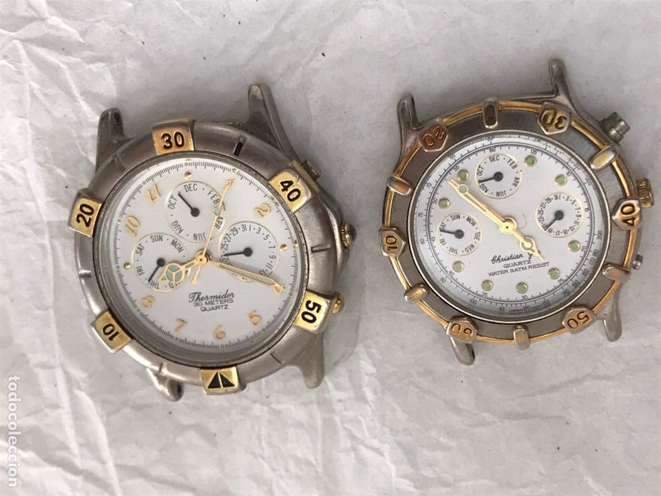 Recambios de relojes: Dos relojes cuarzo ( para reparar) - Foto 2 - 171442757