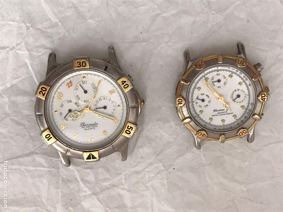 Recambios de relojes: Dos relojes cuarzo ( para reparar) - Foto 3 - 171442757