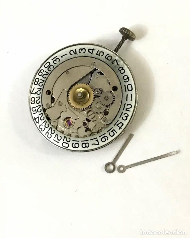 MÁQUINA PARA RELOJ CALIBRE AS 1791/93 CARGA MANUAL CALENDARIO (Relojes - Recambios)